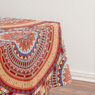 Abstrakter Musterentwurf Boho Mandala Tischdecke