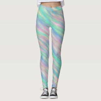 Abstrakter Pastell Leggings