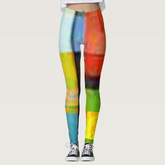 Abstrakter Pastellhintergrund Leggings