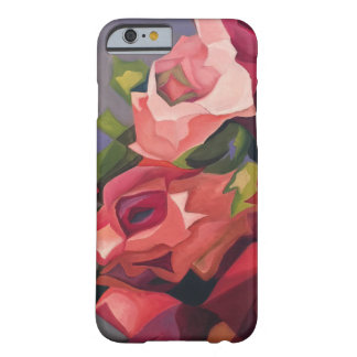 Abstrakter Rosen-Telefon-Kasten Barely There iPhone 6 Hülle