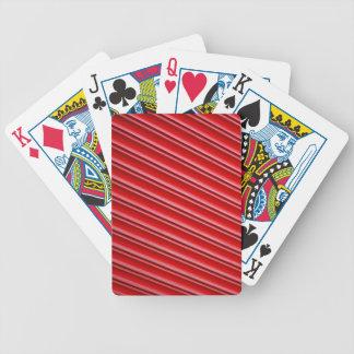 Abstrakter roter Hintergrund Bicycle Spielkarten