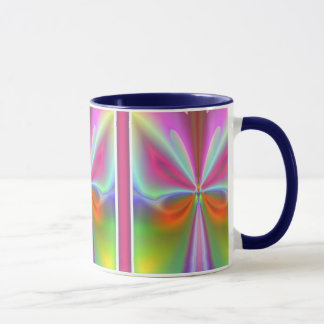 Abstrakter Schmetterling Tasse