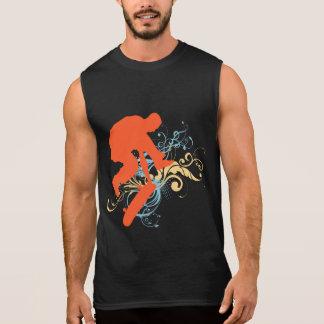 Abstrakter Skateboarding Ärmelloses Shirt