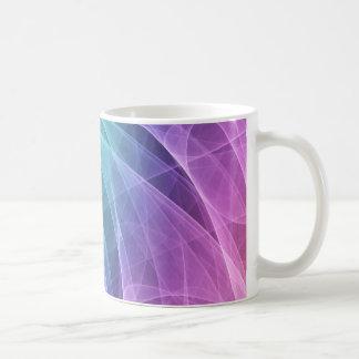 Abstrakter Strudel-Diamant Kaffeetasse