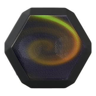 Abstrakter Strudel Schwarze Bluetooth Lautsprecher