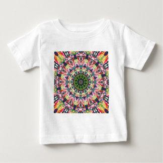 Abstrakter struktureller Mandala 1 Baby T-shirt