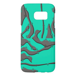 Abstrakter Telefon-Kasten Samsungs-Galaxie-S7 kaum