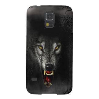 Abstrakter Tierknäuel-Wolf Hülle Fürs Galaxy S5