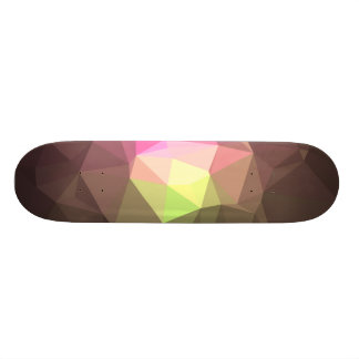 Abstrakter u. bunter Muster-Entwurf - 18,1 Cm Old School Skateboard Deck