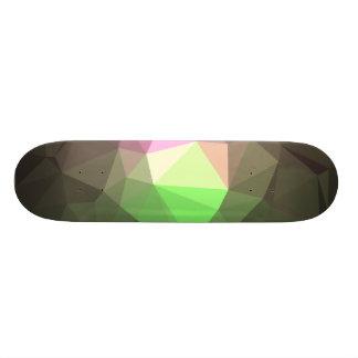 Abstrakter u. bunter Muster-Entwurf - Jahreszeit 19,7 Cm Skateboard Deck