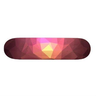 Abstrakter u. bunter Muster-Entwurf - röten Sie 20,6 Cm Skateboard Deck