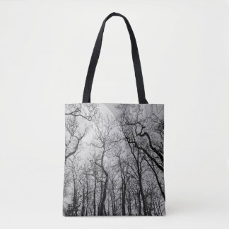 Abstrakter Wald fertigen FarbTaschentasche Tasche