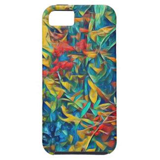Abstrakter Wald Hülle Fürs iPhone 5