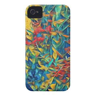 Abstrakter Wald iPhone 4 Case-Mate Hüllen