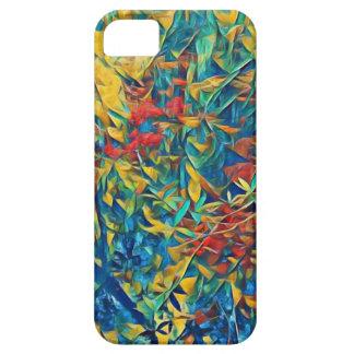 Abstrakter Wald iPhone 5 Hüllen