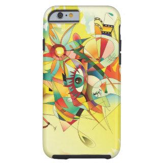 Abstrakter Watercolor-Malerei iPhone 6 Fall Tough iPhone 6 Hülle