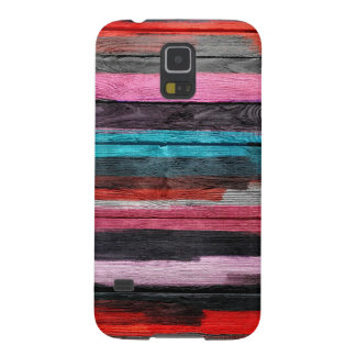 Abstrakter Watercolor-Vintages Holz #2 Galaxy S5 Cover