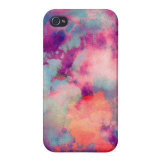 abstrakter Watercolorkasten iPhone 4/4S Cover