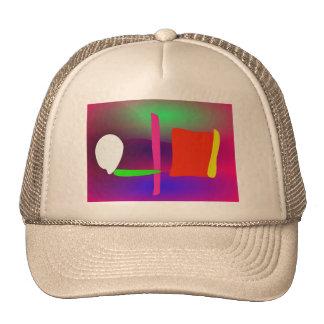 Abstrakter Zaun Baseballcaps