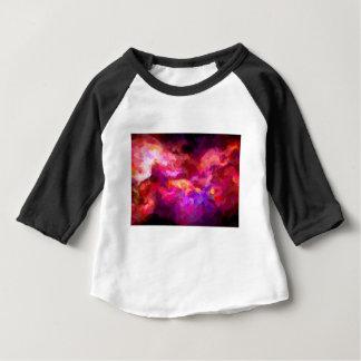 abstrakter Zeitgenosse färbt keine 44 Baby T-shirt