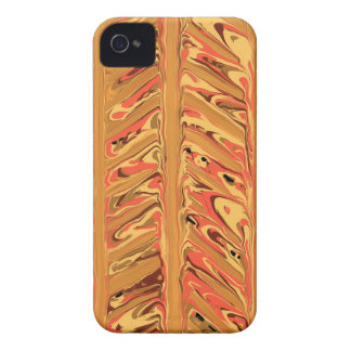 Abstrakter Zickzack Kunst iPhone Fall iPhone 4 Cover