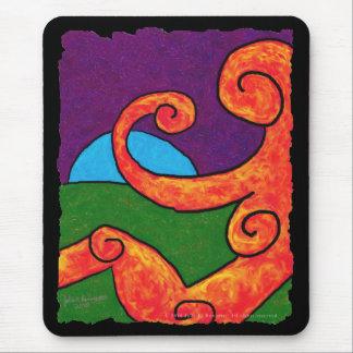 Abstraktes 1-6-10 Mousepad