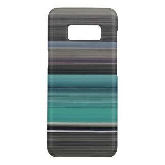 Abstraktes #1: Aquamarin und grau Case-Mate Samsung Galaxy S8 Hülle