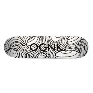Abstraktes #1 durch OGNK™ Skate Board