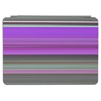 Abstraktes #1: Lila und grau iPad Air Hülle