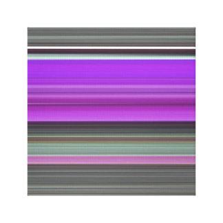 Abstraktes #1: Lila und grau Leinwanddruck