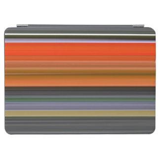 Abstraktes #1: Orange und Grau iPad Air Cover