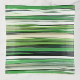 Abstraktes #2: Grüne Unschärfe Dekoschale