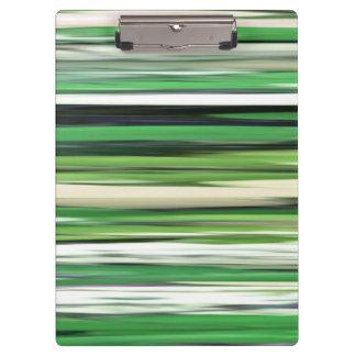 Abstraktes #2: Grüne Unschärfe Klemmbrett