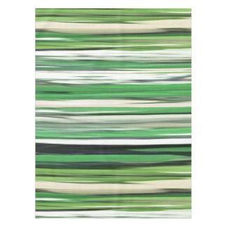 Abstraktes #2: Grüne Unschärfe Tischdecke