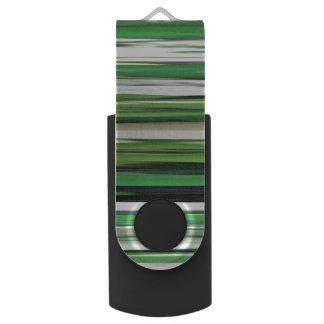 Abstraktes #2: Grüne Unschärfe USB Stick