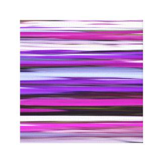 Abstraktes #2: Lila Unschärfe Leinwanddruck