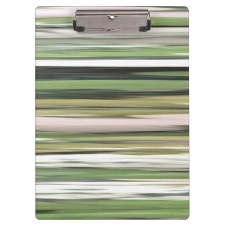 Abstraktes #2: Olivgrünunschärfe Klemmbrett