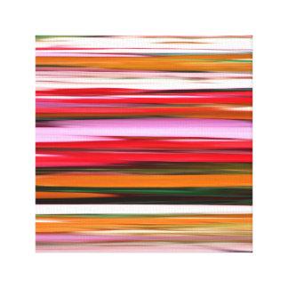 Abstraktes #2: Orange Unschärfe Leinwanddruck