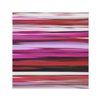 Abstraktes #2: Rote Unschärfe Leinwanddruck