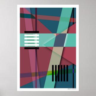 Abstraktes #410 poster