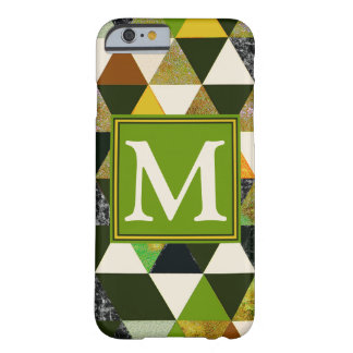 Abstraktes #475 mit Monogramm Barely There iPhone 6 Hülle