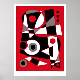 Abstraktes #505 poster