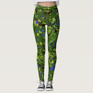Abstraktes #903 leggings