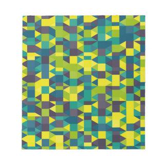 abstraktes Bild Notizblock