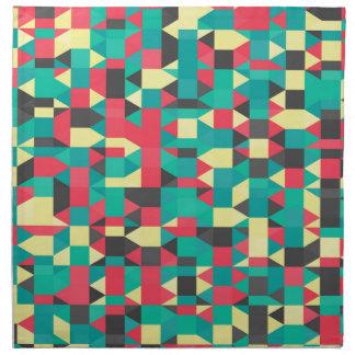 abstraktes Bild Stoffserviette
