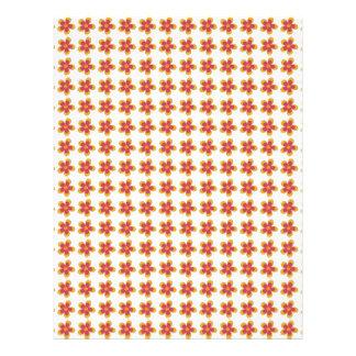 Abstraktes Blumenmuster. Digital-Kunst Flyer Druck