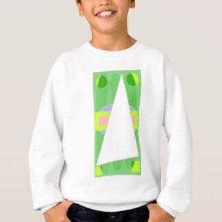 Abstraktes Dreieck Sweatshirt