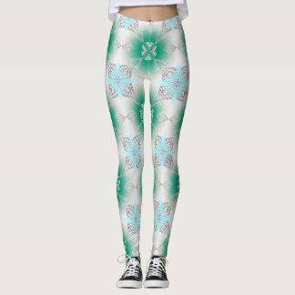abstraktes ethnisches   geometrisches Muster Leggings