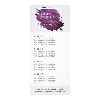Abstraktes Farben-Logo | Preiskalkulation oder Werbekarte