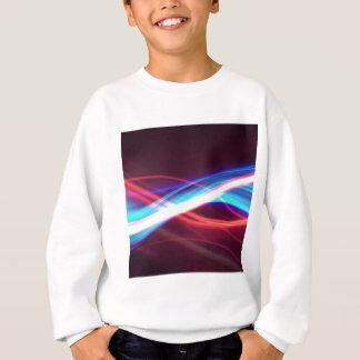 Abstraktes FarbeSmokey Licht Sweatshirt